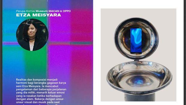 Etza Meisyara di Arisan Karya Museum MACAN Jakarta