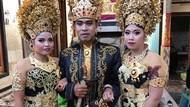 Sempat Pacaran Diam-diam, Begini Cara Duda di Bali Nikahi 2 Wanita Sekaligus