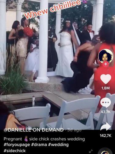 Insiden pernikahan di akun TikTok