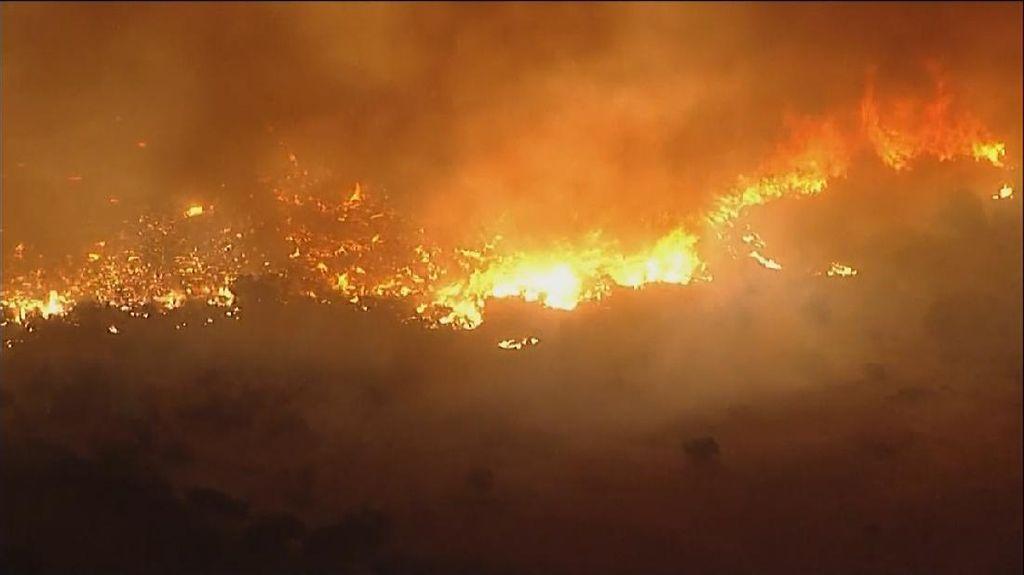 Kebakaran Hutan California Makin Ngeri, 8.000 Hektare Hangus