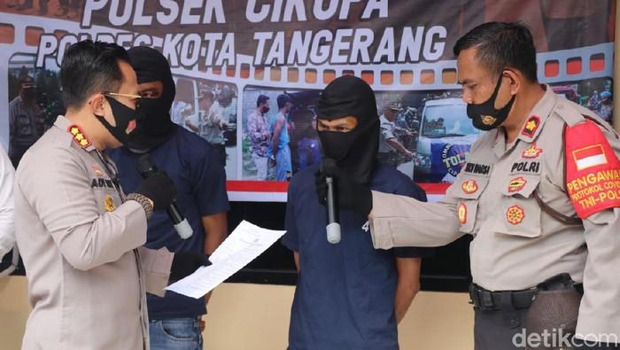 Komplotan Pencuri Motor di Tangerang