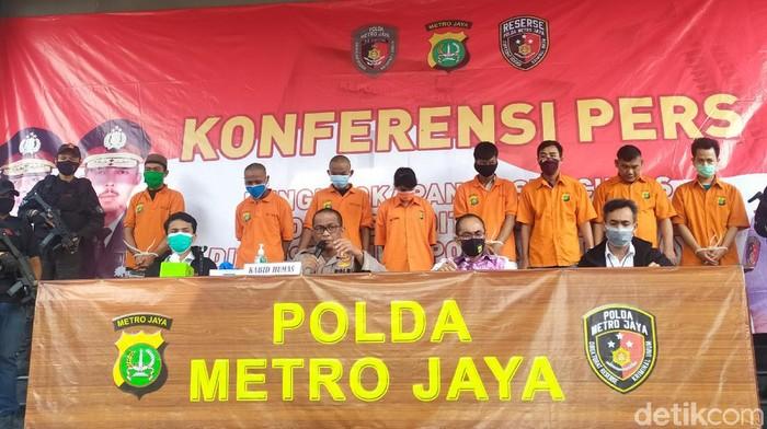 Konferensi Pers Polda Metro Jaya
