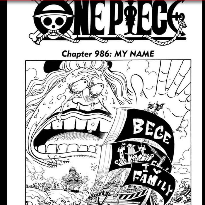 Manga One Piece 986