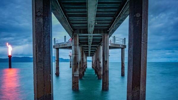 Tepatnya Great Barrier Reef berada di lepas pantai Townsville, Australia. (MOUA/instagram)
