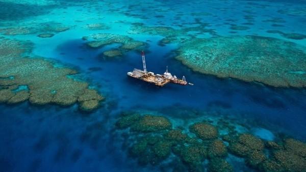Berlokasi di Great Barrier Reef, kumpulan terumbu karang terbesar di dunia yang juga terdaftar sebagaui warisan dunia. (MOUA/instagram)