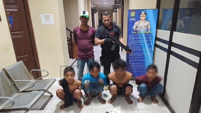 Pemulung Kakak-Beradik Diamankan Polisi Lantaran Dihakimi Warga