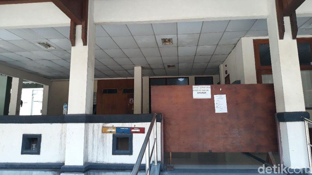Penampakan Gedung Balai Kota Solo Ditutup Karena Pegawai Kena COVID-19