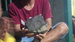Heboh Warga Tapteng Ngaku Rumahnya Ditimpa Meteor, LAPAN Belum Identifikasi