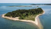 Setelah 300 Tahun, Pulau Pribadi di AS Terbuka untuk Turis