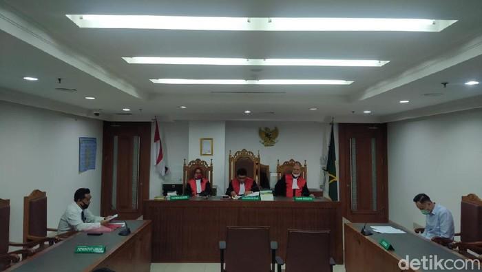 Sidang sengketa warisan Bos Sinar Mas/Herdi Alif Alhikam-detikcom