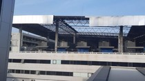 Sisi Atap Gedung Parkir Terminal 3 Lepas, AP II: Sudah Aman Diperbaiki