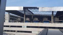 Sisi Atap Gedung Parkir Terminal 3 Runtuh, AP II: Sudah Aman Diperbaiki
