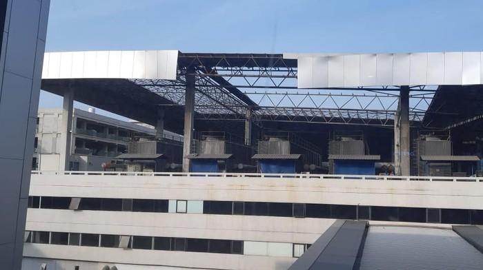 Sisi atap Gedung Parkir Terminal 3 (Istimewa)