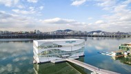 Keren! Starbucks Akan Buka Gerai di Tengah Sungai Han yang Cantik