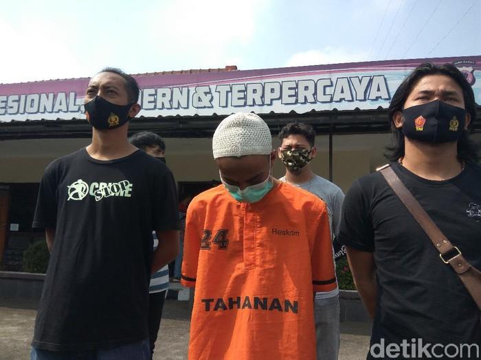 Suherman pelaku penipuan di Bandung Barat