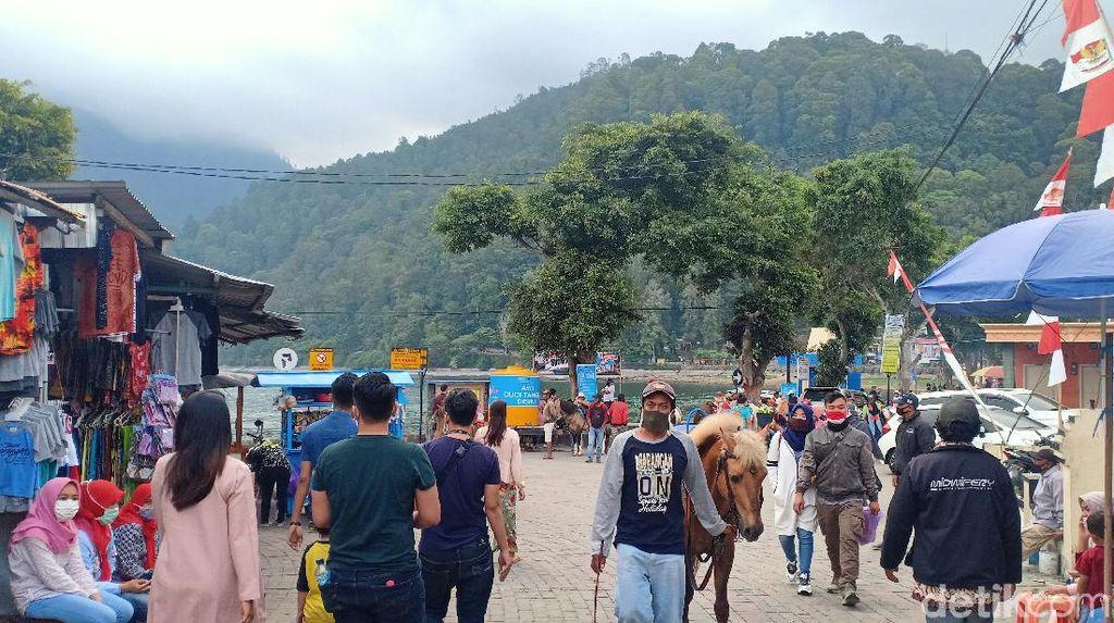 Telaga Sarangan Magetan Diserbu 11 Ribu Pengunjung Selama Libur Idul Adha