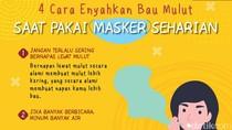 Terganggu Bau Mulut karena Seharian Pakai Masker? Ini Tips Mengatasinya