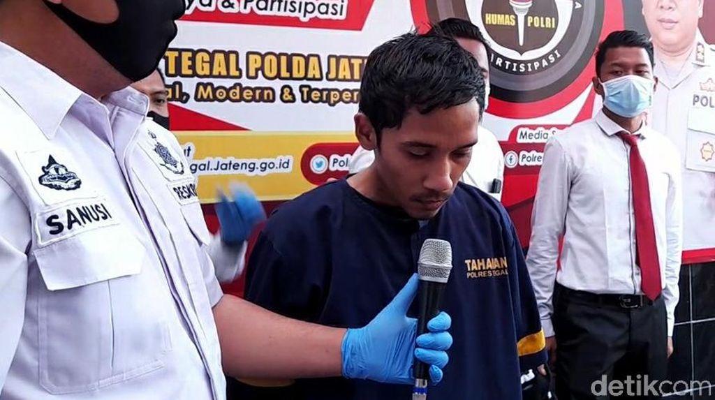 Ini Tampang Pelaku Pembunuhan Sadis Pasutri di Tegal