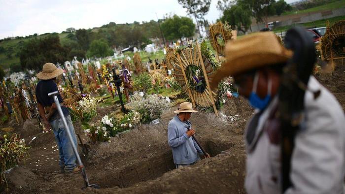 Virus corona: Tingkat kematian di Meksiko tertinggi ketiga di dunia