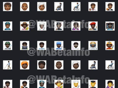 WhatsApp 138 emoji baru