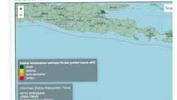 Gugus Tugas Jatim Sebut Pedoman Zonasi di Website Satgas COVID-19 Pusat