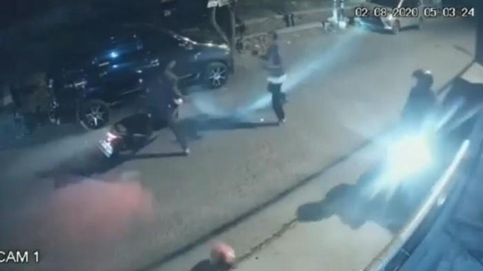Aksi begal motor di Cimahi terekam CCTV