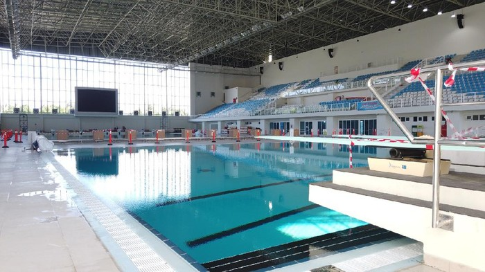Arena Aquatic PON Papua