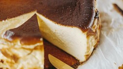 Basque Burnt Cheesecake, Kue Keju Gosong dari Spanyol yang Hits