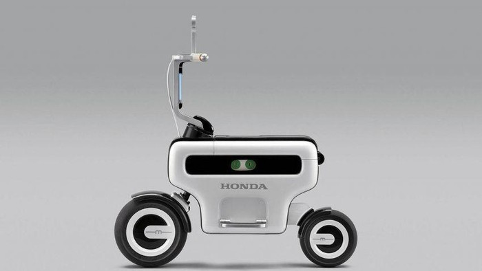 Bocoran gambar paten Honda Motocompacto