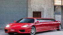 Potret Ferrari Limusin yang Cocok untuk Acara Kawinan