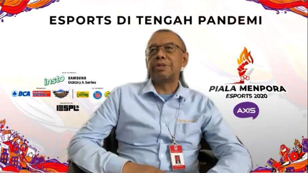 Cari Bakat Muda, Kemenpora Gelar Piala Menpora Esport 2020