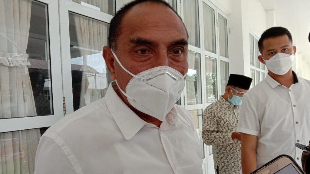 Gubsu Soroti Warga Tak Patuh Cegah Corona: Masker Dibuka-Jaga Jarak Tak Mau