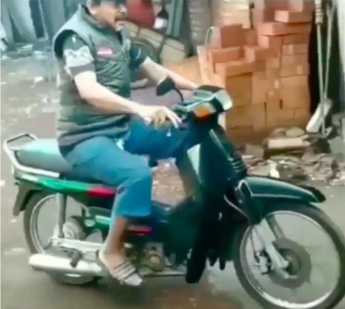 Honda Grand jadi sepeda