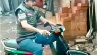 Ini Dia Motor Genjot, Honda Grand Dimodif Jadi Sepeda