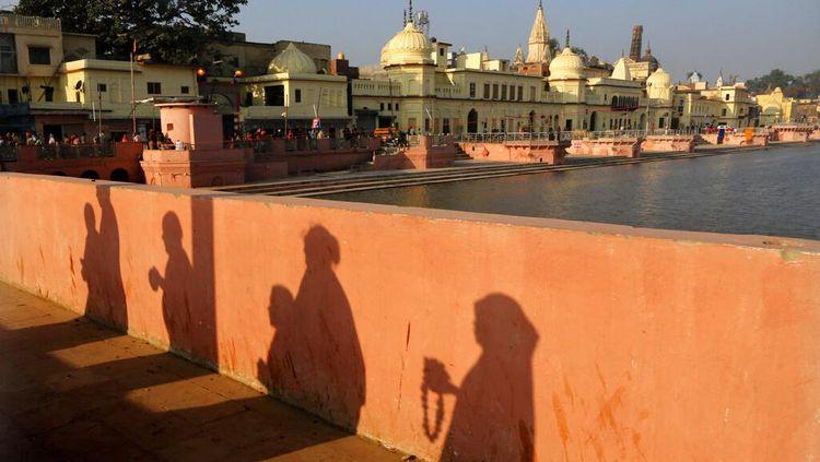 India Akan Bangun Kuil Hindu di Atas Situs Sengketa