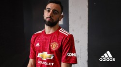 Man United Rilis Jersey Kandang 2020/2021, Ini Penampakannya