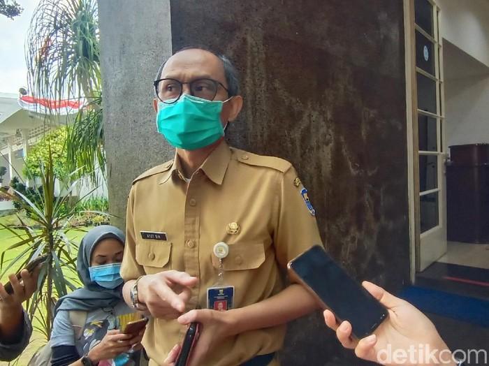 Kadis Koperasi UMKM Kota Bandung Atet Dedi Handiman