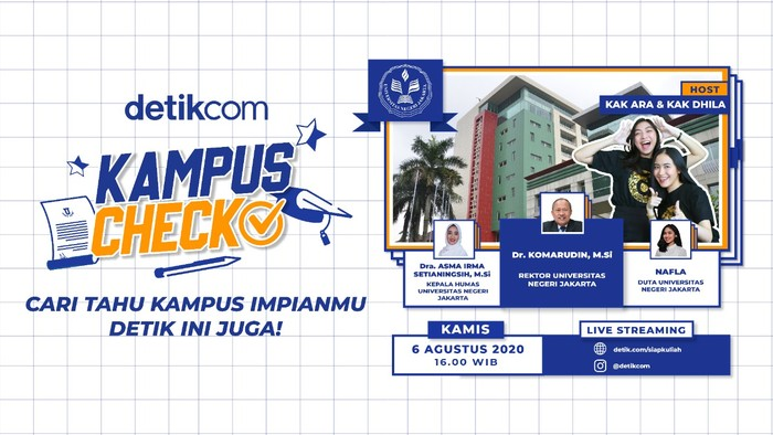 Kampus Check, Siap Kuliah, edisi UNJ (detikcom)