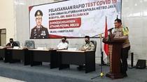 Kapolda Metro Pantau Rapid Test dan Bagikan Sembako di Ponpes Bekasi