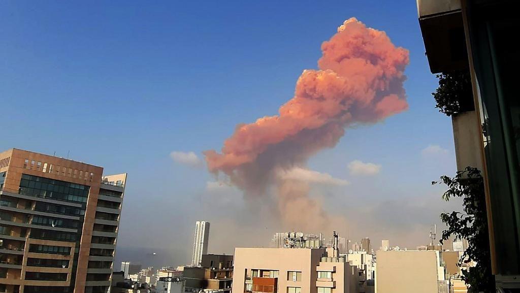 Trump Sebut Ledakan Beirut Terindikasi Serangan Bom, Pentagon Bantah
