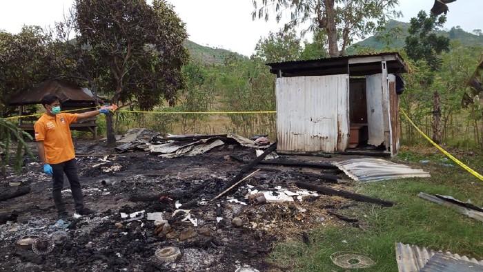 Lokasi bocah diperkosa dan dibakar di Dompu, NTB.