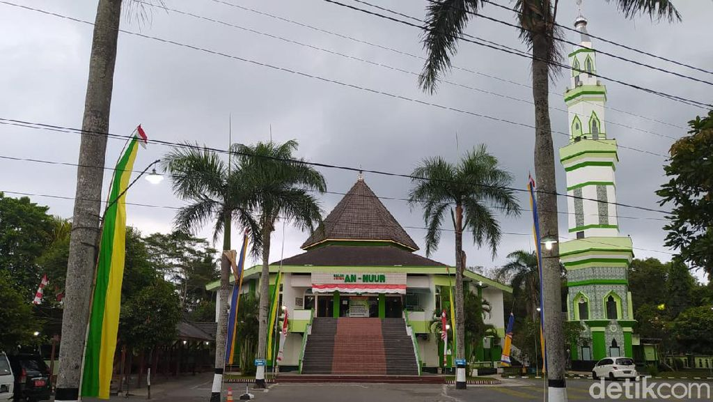 Pembangunan Masjid Agung Jateng Rp 450 M di Magelang Dimulai 2021