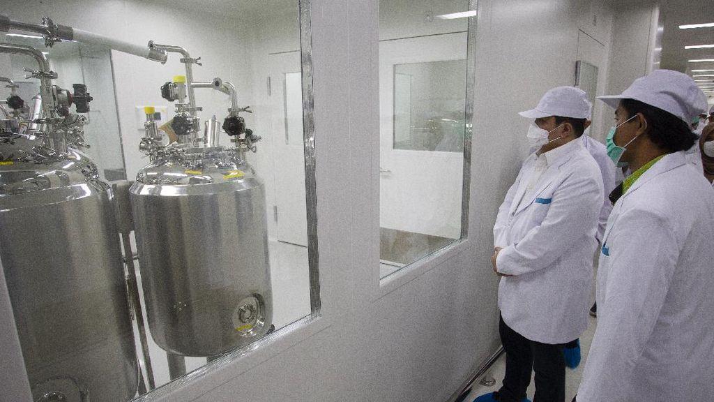 RI Produksi Vaksin Corona, Pabrik Bio Farma Mau Ditambah?