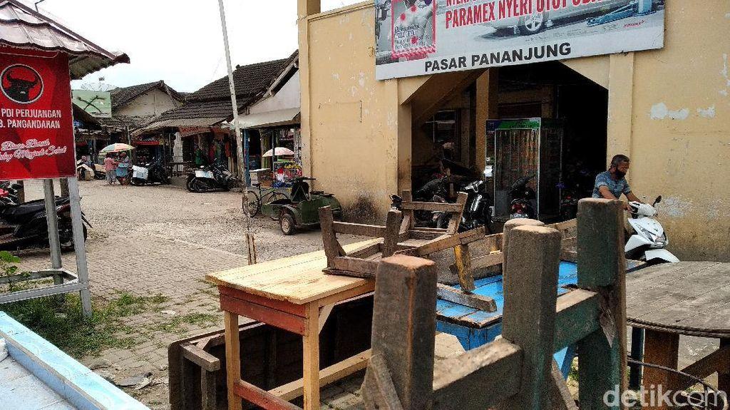 Revitalisasi Pasar Pangandaran Tunggu Relokasi Terminal