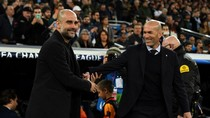 Guardiola Vs Zidane, Duel Pelatih Plontos yang Sama-sama Jos