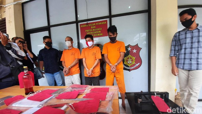 Produsen pembuat upal di Sleman ditangkap polisi