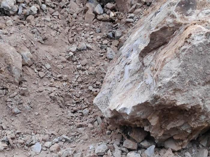 Seorang pria di Desa Soco, Kecamatan Dawe, Kudus meninggal karena tertimpa runtuhan tanah padas, Selasa (4/8/2020).