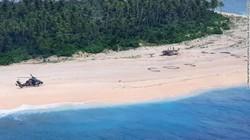 Tentara Terdampar di Pulau Pasifik Selamat Berkat Tanda SOS