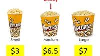 Trik Marketing Restoran, Tawarkan 3 Porsi Berbeda Pada Menu Makanan