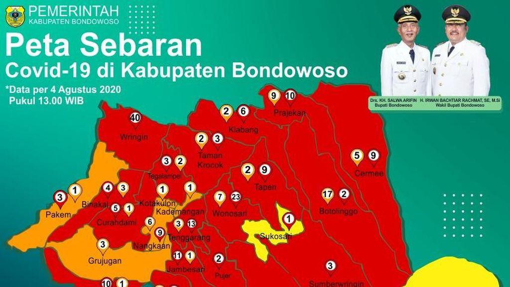 Positif COVID-19 Warga Bondowoso Asal Klaster Pabrik Udang Bertambah 100 Orang